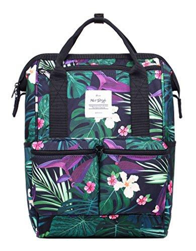 HotStyle DISA Fashion Blumen Damen Laptop Rucksack 14 zoll (44x27x17cm) - Amazon Dschungel