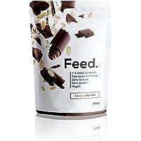 Feed. - 1 Sachet de 5 repas Chocolat - Repas complet, pratique à emporter partout - 100% Vegan - Sans Gluten - Sans lactose - Sans OGM - 750g