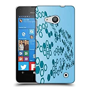 Snoogg Hex Amazing Designer Protective Phone Back Case Cover For Nokia Lumia 550