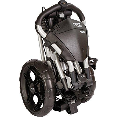 Clicgear ROV1C Chariot de Golf, Unisexe, pour Adulte, réglable, Gris