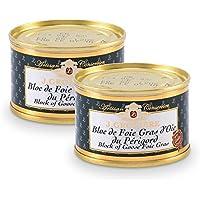 2 Blocs de Foie Gras d'Oie du Périgord 65g