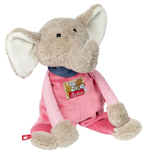 sigikid, Mädchen, Stofftier, Elefant, Babys Beste Freunde, Rosa, 38731