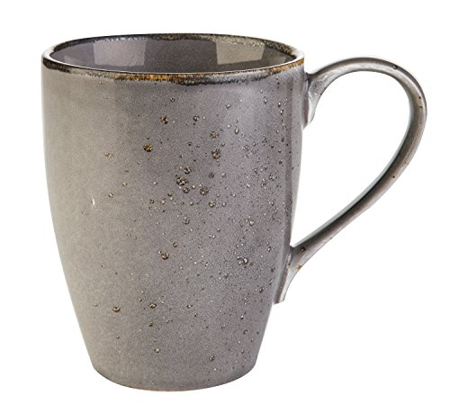 Kaffeetasse Kaffeebecher Teetasse NATURE COLLECTION GRAU 4 | Steinzeug | 300 ml