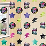 Totally 80s String Decoration 7 Feet - by Partyrama