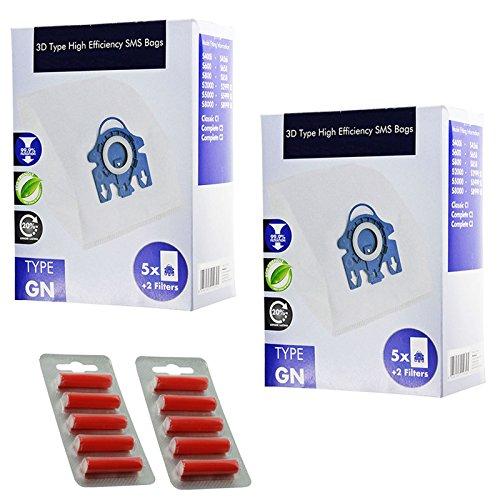 spares2go-3d-type-gn-hyclean-sacs-pour-aspirateur-miele-10-sacs-filtres-a-air-micro-assainisseurs