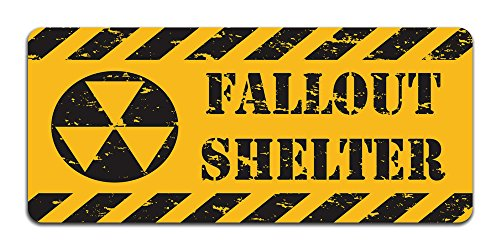 Metall Schild (Fallout Shelter Sign)