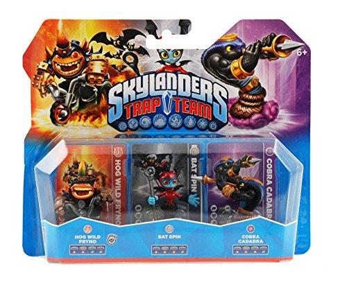 Skylanders: Trap Team – Triple Pack 4 (Cobra Cadabra, Bat Spin, Fryno S2) 51hD8FnJl 2BL