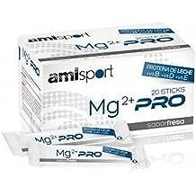 AMLSPORT Mg2+ VIT Vit.B+Vit.D+Vit.E Fresa (