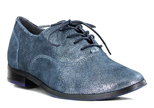FUGITIVE HEVEA - Derbies / Richelieus - Femme Navy