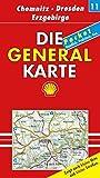 Die Generalkarte Deutschland Pocket. 1:200000: Die Generalkarten Deutschland Pocket, 20 Bl., Bl.11, Chemnitz, Dresden, Erzgebirge - Mair Generalkarten Pocket