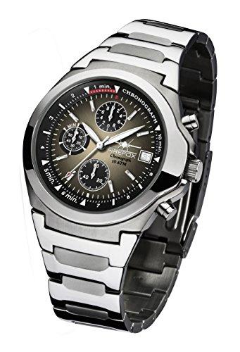 FIREFOX 4260223862595–Armbanduhr Herren Edelstahl