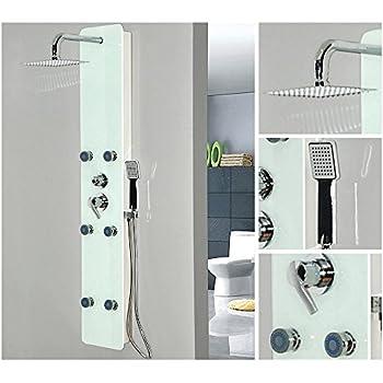 duschpaneel duschpaneele 6 massaged sen massage dusche. Black Bedroom Furniture Sets. Home Design Ideas