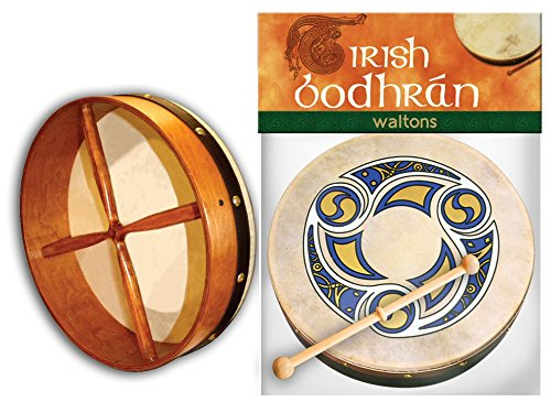 waltons-8-trinity-design-printed-irish-bodhran-with-beater-gift-packaging