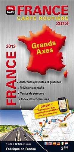 France : Carte routière 1/100 0000