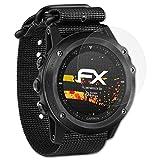 atFoliX Schutzfolie kompatibel mit Garmin Tactix Bravo Bildschirmschutzfolie, HD-Entspiegelung FX Folie (3X)