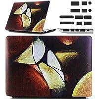 Macbook Retina 12 pollici Custodia Copertina - Ultra Slim Notebook Laptop Case Plastica Cover Rigida Duro Paraurti in Marmo Solido Modello Madre Bambini Caso per Apple The New Macbook 12