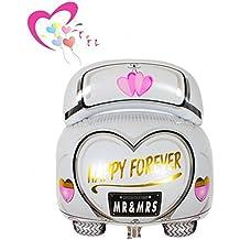 Ximkee 61cm Happy Forever Mr & Mrs matrimonio auto foil Balloons for wedding party Kids 'Toy Gift