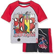 COJUNTO 2 PZ SHORT + T-SHIRT SPIDERMAN