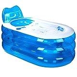 EST007 Bath Tub Vasca gonfiabile ispessimento, vasca per adulti, secchio pieghevole per vasca da bagno in plastica (145 * 80 * 70cm)