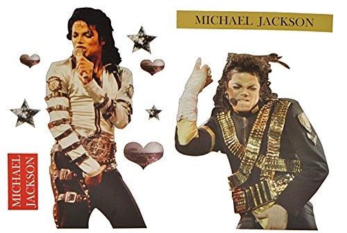 Sticker - Michael Jackson Musik Pop Sänger King of Pop - Wandsticker Aufkleber ()