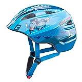 Cratoni Akino Fahrradhelm Kids Pirat blau Glanz Kopfumfang S | 49-53cm 2018 Mountainbike Helm Downhill