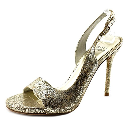 Stuart Weitzman Reckless Donna US 8 Oro Sandalo