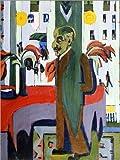Posterlounge Acrylglasbild 30 x 40 cm: Max Liebermann in seinem Atelier von Ernst Ludwig Kirchner/ARTOTHEK - Wandbild, Acryl Glasbild, Druck auf Acryl Glas Bild