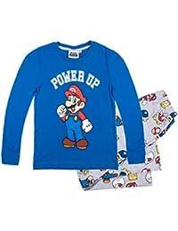 Super Mario Bros Garçon Pyjama 2016 Collection - bleu