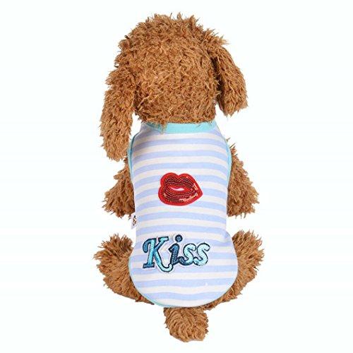 Kleine Hunde T-Shirt artistic9(TM) Puppy Hund Pet Winter Fall Warm Gepolsterter Haarverdichtung Weste Kleidung