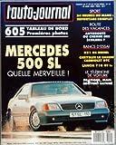 AUTO JOURNAL (L') [No 11] du 15/06/1989 - SOMMAIRE - ACTUALITES - A J INFO - A J PREMIERE - A-J COURRIER - NOS LECTEURS ONT LA PAROLE - EQUIPEMENT - LE TELEPHONE DE VOITURE - PROTOTYPES - PREMIERES PHOTOS DE L'INTERIEUR DE LA 605 - REPORTAGE - PARIS-MEDITERRANEE - AUTOROUTE OU CHEMIN DES ECOLIERS - CADILLAC A LA CONQUETE DE L'EUROPE - ESSAIS - J'AI CONDUIT LE ROADSTER MERCEDES 500 SL - CHRYSLER LE BARON GTC CABRIOLET - LE BLOC ROUTE - LE PRIX DES VOITURES NEUVES - NOS PETITES ANNONCES CLASSEES