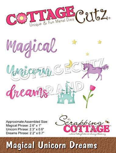 Cottage Cutz Dies-Magical Unicorn Dreams .4