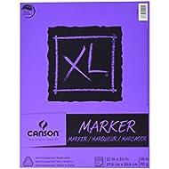 Canson XL C400023336 22,86 cm x cm (9 30,48 (12 Colla-Blocco rilegato, 100 fogli