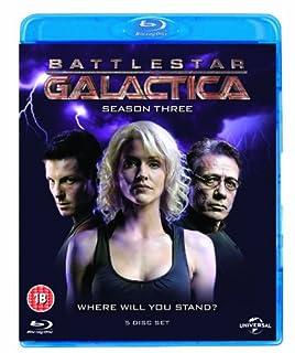 Battlestar Galactica: Season 3 [Blu-ray] [Region Free] (B00318C5F6) | Amazon price tracker / tracking, Amazon price history charts, Amazon price watches, Amazon price drop alerts