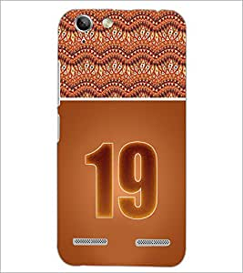 PrintDhaba Numerology Number 19 D-3652 Back Case Cover for LENOVO VIBE K5 (Multi-Coloured)