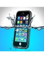 PhoneStar Apple iPhone 6S iPhone 6–carcasa impermeable impermeable al agua Etui de protection Waterproof anti-choc protección completa en negro, color Sans support - Blanc