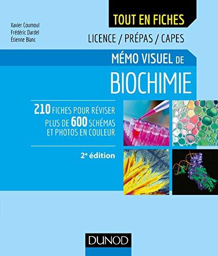 Mémo visuel de biochimie - 2e éd. - Licence / Prépas / Capes