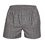 Ott-tricot Herren 3-er Pack Boxershorts American Style Gr. 50/52 100% Baumwolle Verschiedene Designs