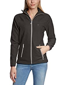 2117 of Sweden Damen Fleecejacke Ladys 3D Storklinten, Black, 34, 7913922