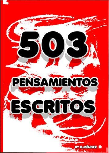 503 PENSAMIENTOS ESCRITOS