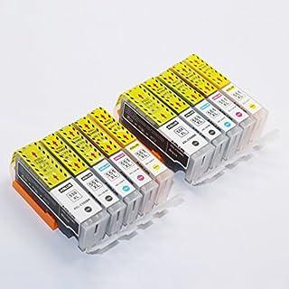 ADLUS 10 kompatibler PGI-550XL CLI-551XL Tintenpatronen (2 PGBK,2 BK,2 C,2 M,2 Y) für Canon PIXMA MG5450 MG5550 MG5650 MG6450 MG6650 MG7550 MX725 MX925 IP7250 druckerpatronen