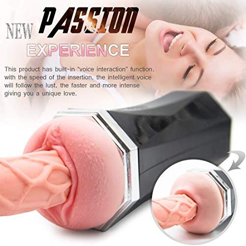 Tovbb Taza llena automática para chupar el mejor regalo Juguete electrónico para hombres Gran tamaño Taza de masaje El mejor regalo