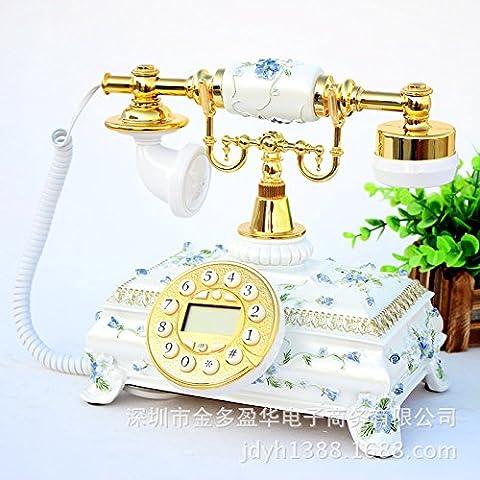 SJMM Téléphone antique, home office, téléphone fixe