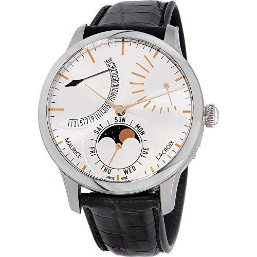 Maurice Lacroix Reloj automático caja de acero MP6528-SS001-130-1