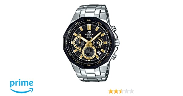 Casio Edifice Analog Black Dial Men's Watch - EFR-554D-1A9VUDF (EX407)