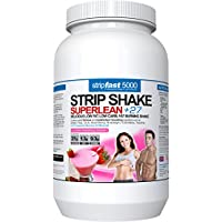 Diet Whey Protein Powder Shakes Weight Loss Support For Men & Women With DIET PLAN & RECIPE BOOK (Strawberry, 907g)