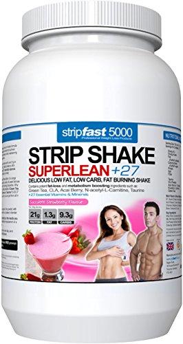 Geschmack Diät (Diät Molkenproteinpulver-Shakes in 8 leckeren Geschmacksrichtungen | Für Gewichtsreduktion, Fitness, Muskelaufbau | Für Männer & Frauen (Erdbeere, 907g) 23 Portionen)
