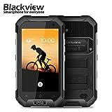 sunsetglow Blackview BV6000 3GB / 32GB Schwarz, 4,7'' Robustes Smartphone entsperrt IP68 Wasserdicht, Octa-Core Rui, Dual-Sim, 5MP + 13MP Kamera, Corning Gorilla Glass 3, NFC, Schnellladung, 4500mAh