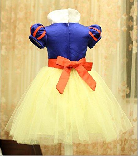 Imagen de disfraz de blancanieves para niña, carnaval, halloween, vestido de fiesta, traje de cosplay alternativa