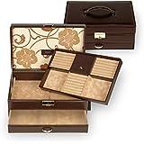 SACHER jewellery case Ines / brown