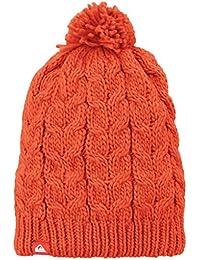 Quiksilver Planter - Gorro de esquí para hombre, color naranja, talla UK: Talla 42, Tall